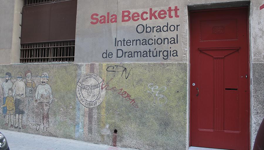 Sala Beckett  del Teatro Fronterizo als nous camins del Poblenou ... 8e2b88f3bc7