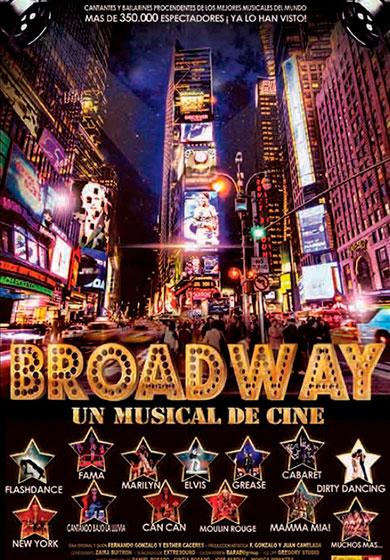 broadway un musical de cine teatro barcelona