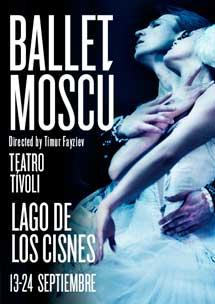 Entrades de platea amb un 20% de descompte per veure el 'Ballet de Moscou' al Tívoli