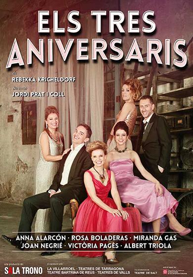 Un escenari, dos infants, tres aniversaris, quatre germans i cinc estrelles!